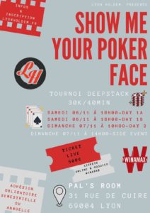 Show me your poker face